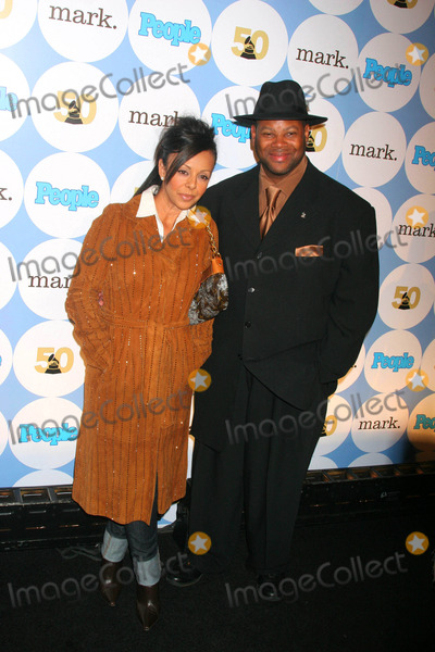 Jimmy Jam Photo - People  the Recording Academy Announce the 50th Annual Grammy Awards Kick-off Party Hosted by Fergie Avalon Hollywood California 12-06-2007 Photo Clinton H Wallace-photomundo-Globe Photos Inc Lisa Harris and Jimmy Jam