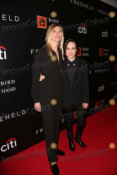 Ellen Page Photo - Samantha Thomas and Ellen Page Attend the New York Special Screening of Freeheld the Museum of Modern Art NYC September 28 2015 Photos by Sonia Moskowitz Globe Photos Inc