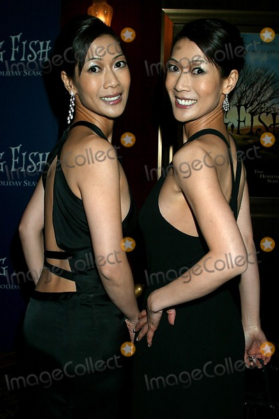 Ada Tai Photo - Big Fish Premiere at the Ziegfeld Theatre New York City 12042003 Photo Sonia Moskowitz Globe Photos Inc 2003 Ada and Arlene Tai