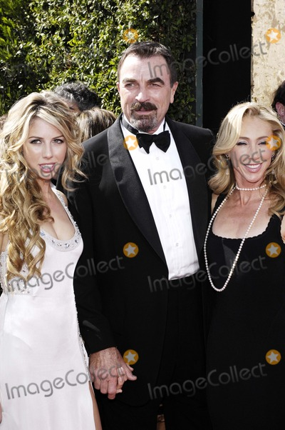 Jillie Mack Photo - 2007 59th Primetime Emmy Awards Arrivals Held at Shrine Auditoriumlos Angeles CA 9-16-2007 Photo by Coverup Prod-Globe Photos 2007 Hannah Selleck Tom Selleck and Jillie Mack