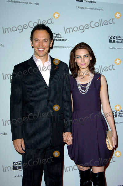 Alfred Hitchcock Photo - Steve Valentine and Inna Korobkina during the Cystic Fibrosis Foundations Los Angeles Chapter inaugural ALFRED HITCHCOCK LEGACY TRIBUTE GALA  held at Globe Theater at Universal Studios on November 8 2009 in Los AngelesPhoto Jenny Bierlich - Globe Photos Inc 2009K63764JB