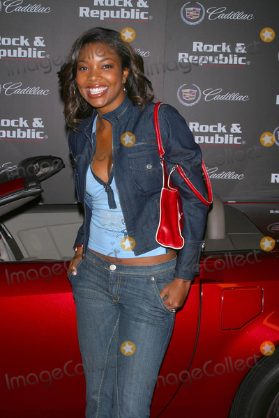 Gabrielle Union Photo - Rock  Republic Premiering Their Fall 2004 Collection Avalon Hollywood California 04012004 Photo by Milan RybaGlobe Photos Inc 2004 Gabrielle Union