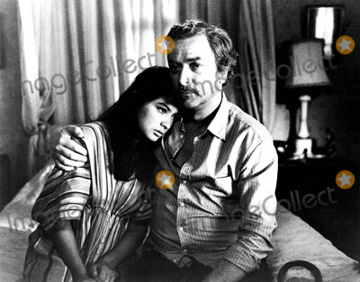 Elpidia Carrillo Photo - Elpidia Carrillo and Michael Caine in the Honorary Consul 1983 Supplied by Globe Photos Inc