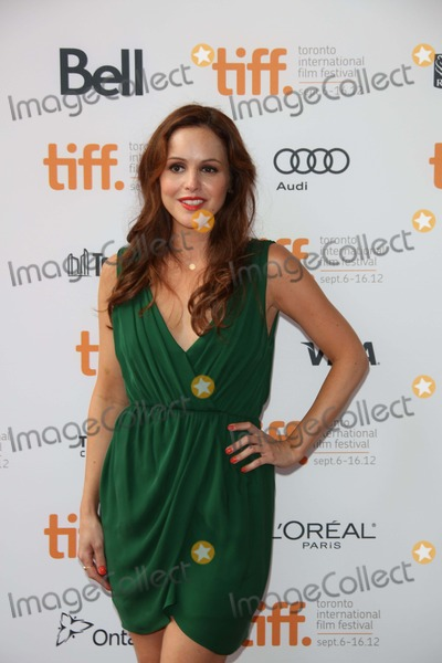 Michele Morgan Photo - Author Michelle Morgan Arrives at the Premiere of Imogene During the Toronto International Film Festival at Ryerson Theatre in Toronto Canada on 07 September 2012 Photo Alec Michael