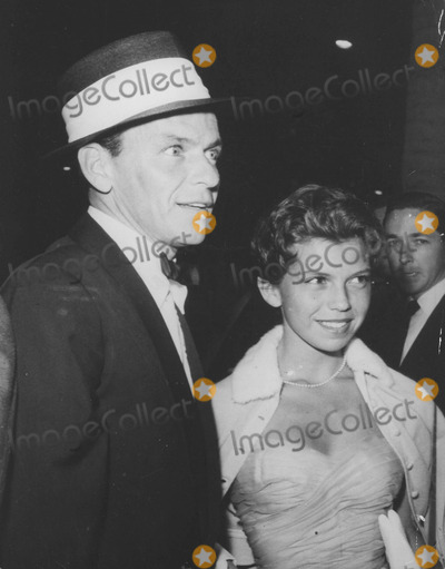 Nancy Sinatra Photo - Nancy Sinatra with Father Frank sinatranot As a Stranger Premiere 1955supplied by Globe Photos Inc