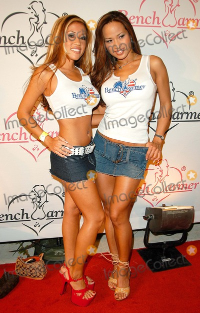 Flo Jalin Photo - - Bench Warmer 2003 Series Release Party - White Lotus Hollywood CA - 07032003 - Photo by Jonathan Friolo  Globe Photos Inc 2003 - Maureen Hoang and Flo Jalin