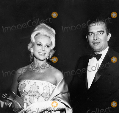 Eva Gabor Photo - Eva Gabor with Husband Richard Brown Supplied by Globe Photos Inc