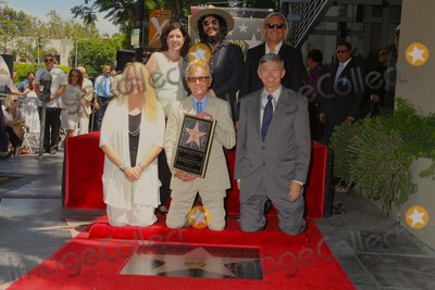 Al Schmitt Photo - Music Pioneer Al Schmitt Honored with Star on the Hollywood Walk of Fame 1750 N Vinefront of Capitol Records Hollywood CA 08132015 Don Was AL Schmitt Joe Walsh and Leron Gubler Clinton H Wallace-ipol-Globe Photos Inc