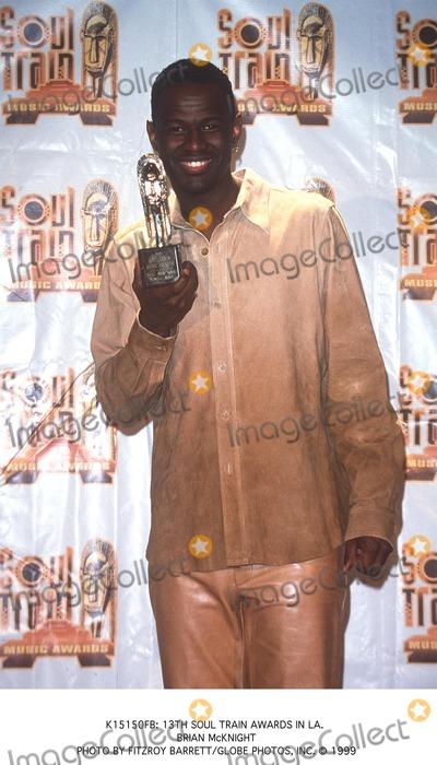 Train Photo -  13th Soul Train Awards in LA Brian Mcknight Photo by Fitzroy BarrettGlobe Photos Inc