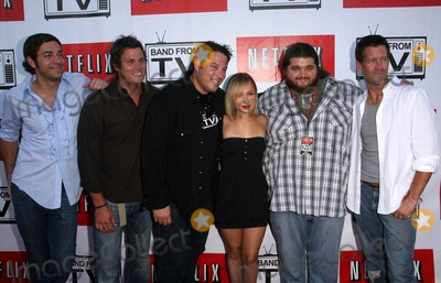 Greg Grunberg Photo - Band From TV Presented by Netflix Live at The Autry National Center Of The American West in Los Angeles CA 08-09-2008Image   Zachary Levi Bob Guiney Greg Grunberg Hayden Panettiere Jorge Garcia and James DentonPhoto  James Diddick  Globe PhotosK59007JDIK59007JDI