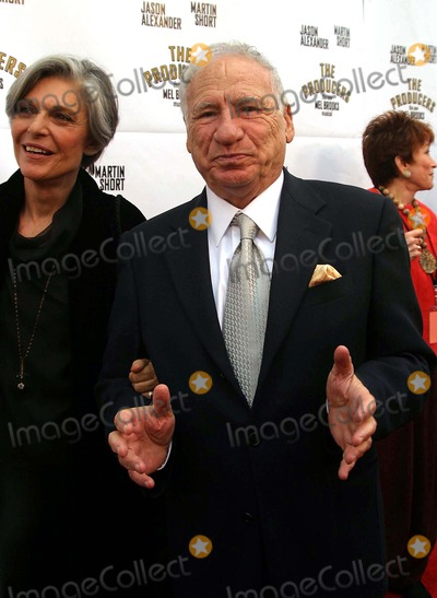 Anne Bancroft Photo - Mel Brooks and Wife Anne Bancroft - the Producers - Mel Brooks Musical Opening - Pantages Theater Hollywood CA - 052903 - Photo by Nina PrommerGlobe Photos Inc2003