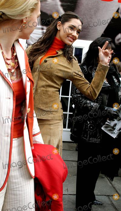 Amelia Vega Photo - Celebrities Arriving For the Olympus Fashion Week Oscar DE LA Renta Fall 2004 Collection at Bryant Parkin New York City 292004 Photo Byrick MacklerrangefindersGlobe Photos Inc 2004 Amelia Vega