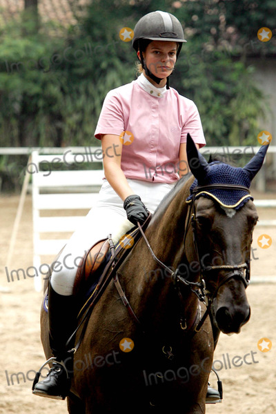 Athina Onassis Roussel Photo - 02-24-2005 Sao Paulo Brazil Athina Onassis Roussel During the Equestrian Summer Tournament at the Santo Amaro Club Photo Sebastiao MoreiraaecityfilesGlobe Photos Inc