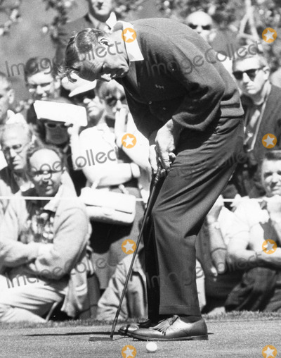 Arnold Palmer Photo - Arnold palmerphoto by Gilloon photo-globe Photos Inc