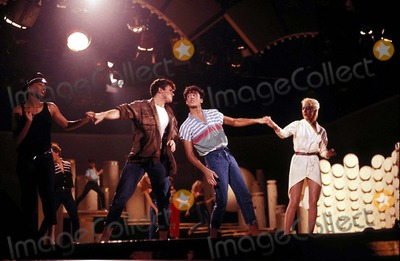 Andrew Ridgeley Photo - George Michael and Andrew Ridgeley of Wham Photo by Globe Photos Inc E8311