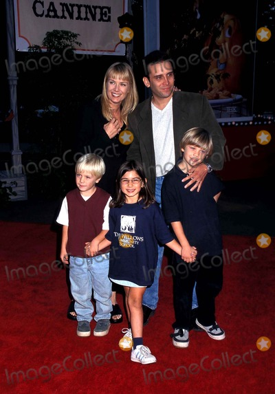 Katherine Kelly Lang and her family