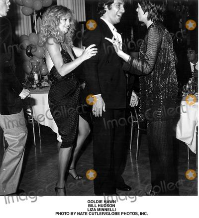 Goldie Hawn Photo - Goldie Hawn Bill Hudson Liza Minnelli Photo by Nate CutlerGlobe Photos Inc