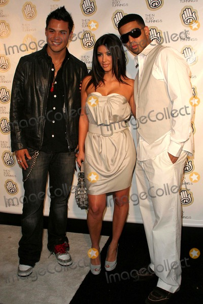 Aubrey Graham Photo - Celebrity Guests Join the Ns 5th Anniversary Celebration at Marquee Neew York City 06-18-2007 Michael Copon Kim Kardashian Aubrey Graham Photo by John B Zissel- Globe Photos Inc