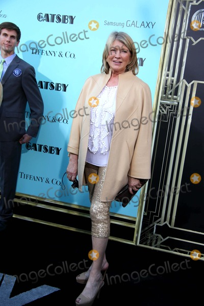 Martha Stewart Photo - The World Premiere of the Great Gatsby Avery Fisher Hall Lincoln Center NYC May 1 2013 Photos by Sonia Moskowitz Globe Photos Inc 2013 Martha Stewart