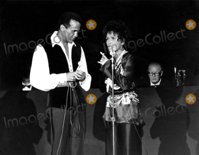 Lena Horne Photo - Harry Belafonte and Lena Horne J CookGlobe Photos Inc