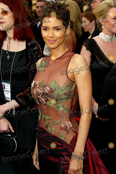 Halle Berry Photo - 74th Academy Awards Hollywood and Highland Hollywood CA 03242002 Photo by Fitzroy BarrettGlobe Photosinc2002 Halle Berry