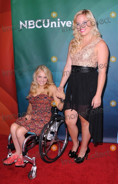 Ali Stroker Photo - NBC Universal Summer Press Tour at the Beverly Hilton in Beverly Hills CA 72512 Photo by James Diddick-Globe Photos copyright 2012 Ali Stroker and Shanna Henderson
