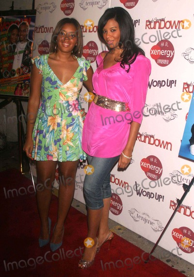 Vanessa Simmons Photo - Angela Simmons and the Simmons Family Launch Rundown Magazine at Tenjune Little West 12th Street 08-17-2007 Photos by Rick Mackler Rangefinder-Globe Photos Inc2007 Angela Simmons and Vanessa Simmons