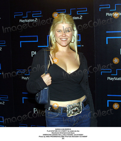 Sarah Ann Morris Photo - Sarah Ann M0rris Playstation 2 E 3 Party to Celebrate the Electronic Entertainment Expo American Legion Hallhollywood CA 5152001 Photo by Nina PrommerGlobe Photos Inc2001 K21845np (D)