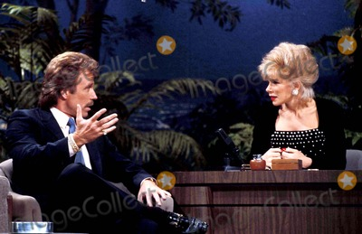Chuck Norris Photo - Chuck Norris and Joan Rivers on the Tonight Show Photo Suzie Bleeden  Globe Photos Inc Chucknorrisretro