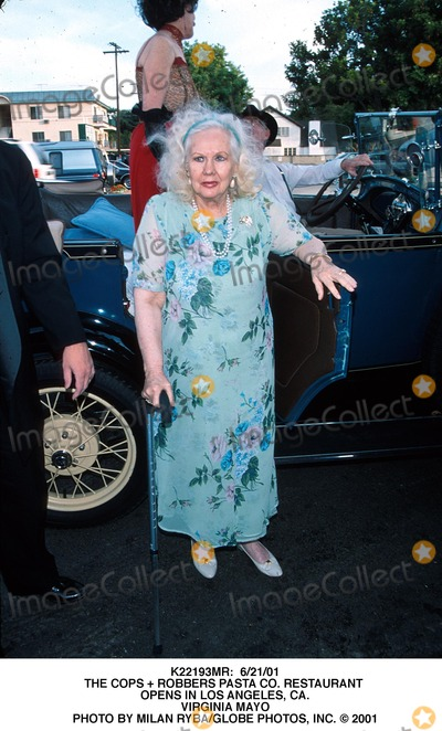 Virginia Mayo Photo -  62101 the Cops  Robbers Pasta CO Restaurant Opens in Los Angeles CA Virginia Mayo Photo by Milan RybaGlobe Photos Inc