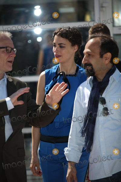 Berenice Bejo Photo - Festival Director Thierry Frmaux (l-r) Actress Berenice Bejo and Director Asghar Farhadi Attend the Photocall of Le Pass the 66th Cannes International Film Festival at Palais Des Festivals in Cannes France on 17 May 2013 Photo Alec Michael Photo by Alec Michael - Globe Photos Inc