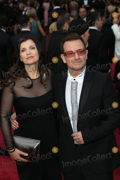 Ali Hewson Photo - Ali Hewson and Paul Hewson Aka Bono of U2 Attend the 86th Academy Awards Aka Oscars at Dolby Theatre in Los Angeles USA on 02 March 2014 Photo Alec Michael Photo by Alec Michael-Globe Photos Inc