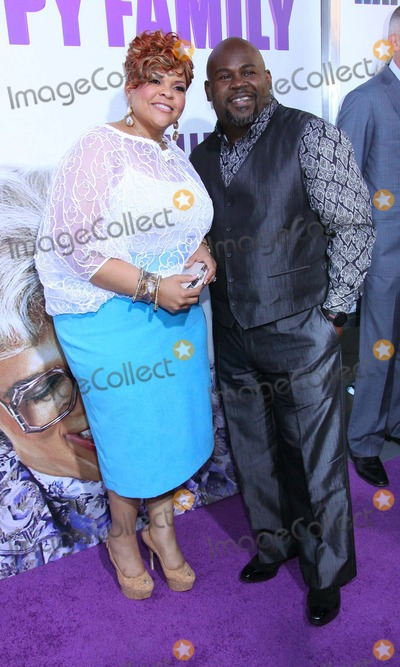 Tamela Mann Photo - Tamela Mann and David Mann Tyler Perrys Madeas Big Happy Family Held at the the Dome at Arclight Hollywood CA April 19 - 2011 Photo TleopoldGlobephotos