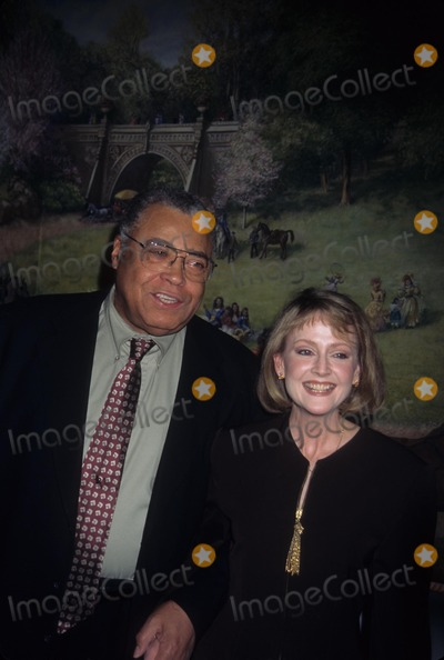 Cecilia Hart Photo - Earl James Jones with Wfie Cecilia Hart Nbr Awards Gala 1996 K4030jbb Photo by John Barrett-Globe Photos Inc