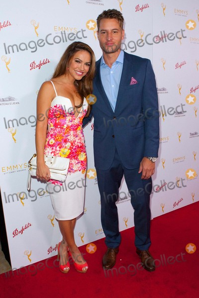 Justin Hartley Photo - Chrishell Stause and Justin Hartley Attend Television Academys Daytime Programming Peer Group Celebration on August 26th 2015 at the Montage in Beverly Hillscaliforniaphototony LoweGlobephotos