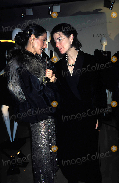 Albert Elbaz Photo - Party For Albert Elbaz Sally Albemarle and Marina Rust at Barnys  New York City 11102004 Photo Rose Hartman Globe Photos Inc 2004 Marina Rust