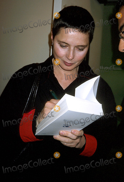 Antonio Monda Photo - Antonio Monda Book Party LA Magnifica Illusione  New York City 03272003 Photo Rose Hartman Globe Photos Inc 2003 Isabella Rossellini