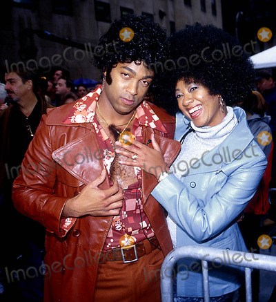 Janice Huff Photo - 2602- New York City 1970s Themed Show of Weekend Today at NBC Studios in Rockefeller Center Ken Babolscay  Ipol Globe Photos Inc I7109kba Janice Huff