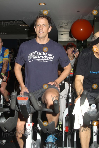 Seth Meyers Photo - Seth Meyers attends 2013 Cycle For Survival Benefit at Equinox Rock Center NYC on 332013 Photo Mitchell Levy Photo by Mitch Levy- Globe Photos Inc