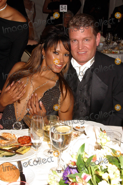 Tracy Bingham Photo - the 14th Annual Night of 100 Stars Oscar Gala-inside the Party at the Beverly Hills Hotel Beverly Hills California 022904 Photo by Clinton H WallaceipolGlobe Photos Inc2004 Traci Bingham and Fiance John Yarbough