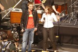 Ryan Seacrest,Kelly Clarkson Photo - Clay Aiken and Kelly Clarkson On Air With Ryan Seacrest