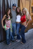 Kerri Kasem,Brody Hutzler,Tina Jordan Photo - Two Chicks and a Bunny at the Saddle Ranch