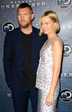 Photo - Photo by Patricia SchleinstarmaxinccomSTAR MAXCopyright 2017ALL RIGHTS RESERVEDTelephoneFax (212) 995-119671917Sam Worthington and Lara Bingle at the premiere of Discoverys Manhunt Unabomber in New York City(NYC)