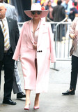 Photos From Lady Gaga is seen in New York City