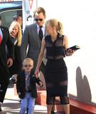 Photos From Chris Pratt, Anna Faris and their son, Jack Pratt are seen in Los Angeles, CA