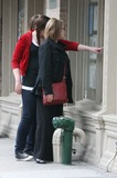 Dianne Wiest Photo - NYC  051008Dianne Wiest and daughters Emily (21 years old) and Lily (17 years old) stopping to look at apartment listings in a window while shopping in the West Village the day before Mothers DayDigital Photo by Adam Nemser-PHOTOlinknet