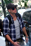 Mark Salling,GLEE CAST,CAST MEMBER,CAST MEMBERS Photo - NY Candids