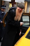 Billy Gibbons,ZZ Top Photo - Billy Gibbons Ofzz Top Rock Group Leaving His Hotel New York City