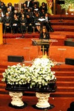 Johnnie Cochran Photo - Funeral of Johnnie L Cochran Jr
