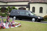 Former President Ronald Reagan,President Ronald Reagan,Ronald Reagan,THE GATES,Nancy Reagan Photo - Ronald Reagan Funeral